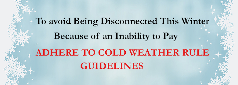 Cold Weather Rule Banner